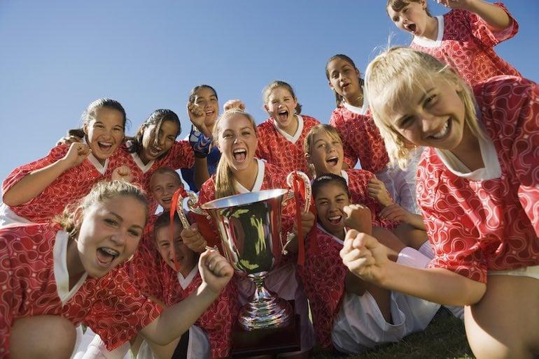 girls-soccer-team-student-athletes